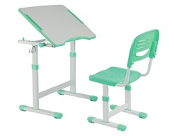 Парта для малышей и стул FunDesk Piccolino II (Зеленый) - фото 18078