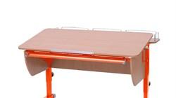 Приставка фронтальная Астек для парт ТВИН/ТВИН-2 и МОНО/МОНО-2 (Цвет каркаса:Оранжевый, Цвет товара:Бук) - фото 18167