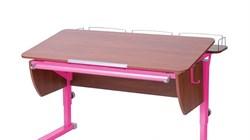 Приставка фронтальная Астек для парт ТВИН/ТВИН-2 и МОНО/МОНО-2 (Цвет каркаса:Розовый, Цвет товара:Яблоня) - фото 18179