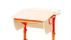 Приставка фронтальная Астек для парты КОЛИБРИ и ЮНИОР (Цвет каркаса:Оранжевый, Цвет товара:Береза) - фото 18318