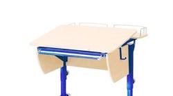 Приставка фронтальная Астек для парты КОЛИБРИ и ЮНИОР (Цвет каркаса:Синий, Цвет товара:Береза) - фото 18327