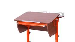 Приставка фронтальная Астек для парты КОЛИБРИ и ЮНИОР (Цвет каркаса:Оранжевый, Цвет товара:Яблоня) - фото 18336