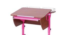 Приставка фронтальная Астек для парты КОЛИБРИ и ЮНИОР (Цвет каркаса:Розовый, Цвет товара:Яблоня) - фото 18342