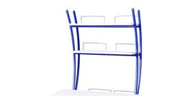 Надстройка Астек на парту КОЛИБРИ и ЮНИОР (Цвет каркаса:Синий, Цвет товара:Белый) - фото 18447