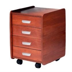 Тумба Астек 4 ящика (Цвет товара:Яблоня) - фото 18529