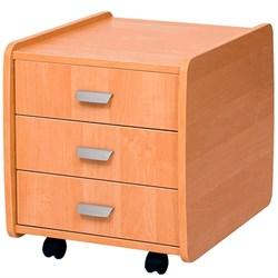 Тумба Астек 3 ящика (Цвет товара:Бук) - фото 18554
