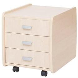 Тумба Астек 3 ящика (Цвет товара:Береза) - фото 18559