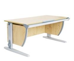 Парта ДЭМИ СУТ-15 120х55 см (Цвет столешницы:Клен, Цвет ножек стола:Серый) - фото 18664