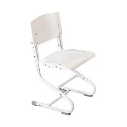 Растущий стул ДЭМИ ДЕРЕВО СУТ.02-01 (регулируется в 3-х плоскостях) (Цвет сиденья и спинки стула:Белый, Цвет каркаса:Белый) - фото 19339