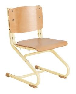 Растущий стул ДЭМИ ДЕРЕВО СУТ.02-01 (регулируется в 3-х плоскостях) (Цвет сиденья и спинки стула:Клен, Цвет каркаса:Бежевый) - фото 19350