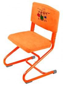 Чехол замшевый для стула ДЭМИ СУТ-01 И СУТ-02 (ЧДС-01) (Цвет товара:Оранжевый) - фото 19399