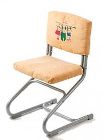 Чехол замшевый для стула ДЭМИ СУТ-01 И СУТ-02 (ЧДС-01) (Цвет товара:Бежевый) - фото 19404
