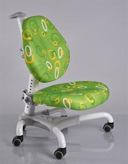 Компьютерное кресло для школьника Mealux Champion (Зеленый с кольцами) - фото 19568