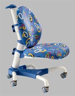 Компьютерное кресло для школьника Mealux Champion (Синий с кольцами) - фото 19586