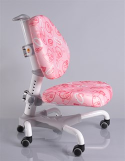 Компьютерное кресло для школьника Mealux Champion (Розовый с кольцами) - фото 19595