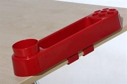 Пенал-контейнер навесной для парт Дэми ОКП-02 макси (Цвет товара:Красный) - фото 21094