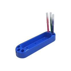 Пенал-контейнер навесной для парт Дэми ОКП-01 мини (Цвет товара:Синий) - фото 21120