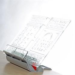 Подставка-трафарет для книг к партам Дэми ПДК-01 (Цвет товара:Серый) - фото 21203