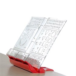 Подставка-трафарет для книг к партам Дэми ПДК-01 (Цвет товара:Красный) - фото 21251