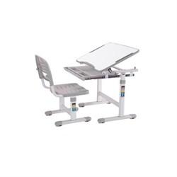 Комплект парта и стульчик Mealux EVO-06 (Белый, Серый) - фото 21283