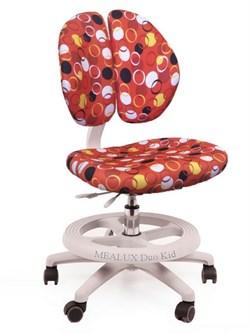 Детское кресло для школьника Mealux Duo Kid (Красный с кольцами) - фото 21396