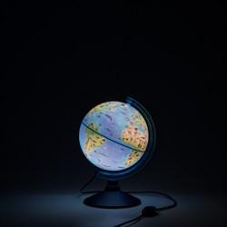 Глобус Зоогеографический (Детский) 210 мм с подсветкой Globen (Цвет товара:Синий) - фото 22103