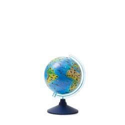 Глобус Зоогеографический (Детский) 210 мм Globen серия Классик евро (Цвет товара:Синий) - фото 22104