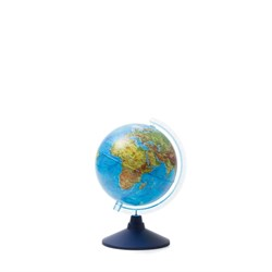 Глобус Земли физический Globen 210 мм Классик Евро (Цвет товара:Синий) - фото 22107