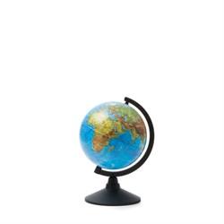 Глобус Земли физический Globen 210 мм Классик (Цвет товара:Черный) - фото 22171