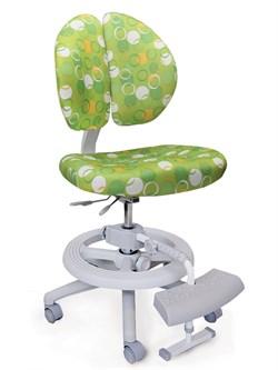 Детское кресло Mealux Duo Kid Plus (Зеленый с кольцами) - фото 23018