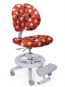 Детское кресло Mealux Duo Kid Plus (Красный с кольцами) - фото 23021