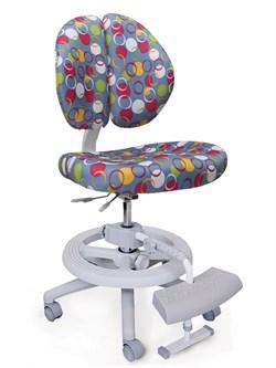 Детское кресло Mealux Duo Kid Plus (Синий с кольцами) - фото 23024