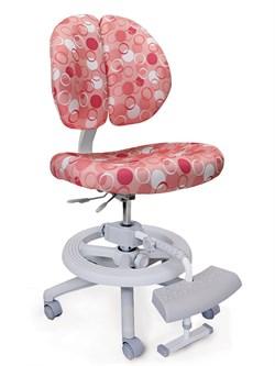 Детское кресло Mealux Duo Kid Plus (Розовый с кольцами) - фото 23027