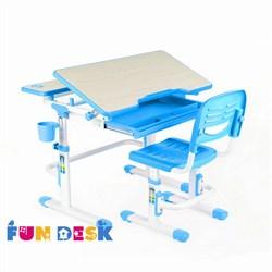 Комплект парта и стул FunDesk Lavoro (Голубой) - фото 23178