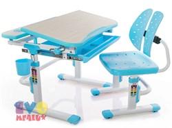 Комплект парта и стульчик Mealux EVO-05 (Клен, Голубой) - фото 23372