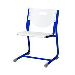 Стул - трансформер Астек SF-3 (Цвет сиденья и спинки стула:Белый, Цвет каркаса:Синий) - фото 24003