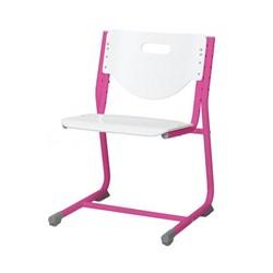 Стул - трансформер Астек SF-3 (Цвет сиденья и спинки стула:Белый, Цвет каркаса:Розовый) - фото 24005