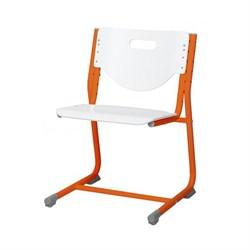 Стул - трансформер Астек SF-3 (Цвет сиденья и спинки стула:Белый, Цвет каркаса:Оранжевый) - фото 24009
