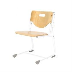 Стул - трансформер Астек SF-3 (Цвет сиденья и спинки стула:Береза, Цвет каркаса:Белый) - фото 24011