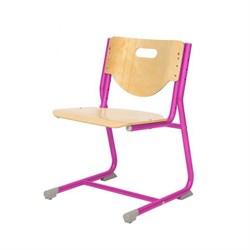 Стул - трансформер Астек SF-3 (Цвет сиденья и спинки стула:Береза, Цвет каркаса:Розовый) - фото 24015