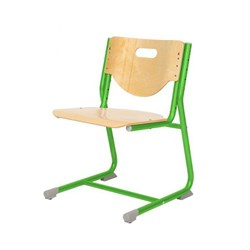 Стул - трансформер Астек SF-3 (Цвет сиденья и спинки стула:Береза, Цвет каркаса:Зеленый) - фото 24017