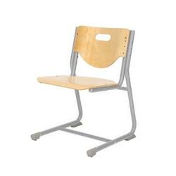 Стул - трансформер Астек SF-3 (Цвет сиденья и спинки стула:Береза, Цвет каркаса:Серый) - фото 24023