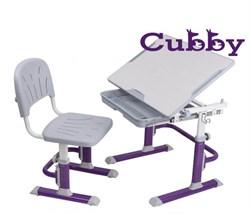 Комплект Cubby парта и стул-трансформеры Lupin VG (Фиолетовый) - фото 24360