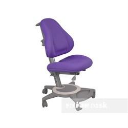 Подростковое кресло для дома FunDesk Bravo (Цвет обивки:Фиолетовый, Цвет каркаса:Серый) - фото 25463