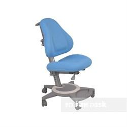 Подростковое кресло для дома FunDesk Bravo (Цвет обивки:Голубой, Цвет каркаса:Серый) - фото 25469