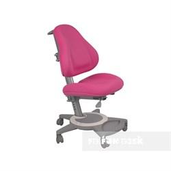 Подростковое кресло для дома FunDesk Bravo (Цвет обивки:Розовый, Цвет каркаса:Серый) - фото 25481