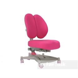 Ортопедическое кресло для детей FunDesk Contento (Цвет обивки:Розовый, Цвет каркаса:Серый) - фото 25486