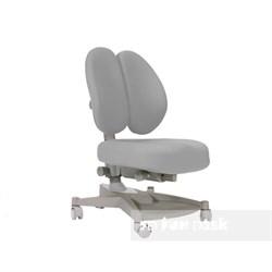 Ортопедическое кресло для детей FunDesk Contento (Цвет обивки:Серый, Цвет каркаса:Серый) - фото 25509