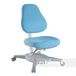 Ортопедическое детское кресло FunDesk Primavera I (Цвет обивки:Голубой, Цвет каркаса:Серый) - фото 25641