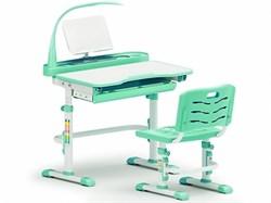 Комплект парта и стульчик Mealux EVO-18 (с лампой) (Белый, Зеленый) - фото 25881